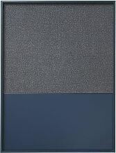 ferm Living - Frame Pinnwand large, blau