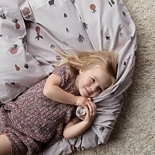 ferm Living - Fruiticana Kinder-Bettwäsche, multi