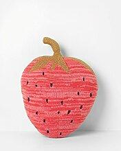 ferm Living - Fruiticana Kissen Erdbeere