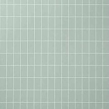 Ferm Living Grid Tapete Grün (l) 1005 X (b) 53 Cm