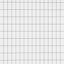 Ferm Living Grid Tapete Weiß (l) 1005 X (b) 53 Cm
