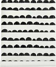 Ferm Living Half Moon Wallpaper - Black
