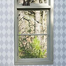 Ferm Living Harlequin Tapete Grau (l) 1005 X (b) 53 Cm