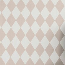 Ferm Living Harlequin Tapete Rosa (l) 1005 X (b)