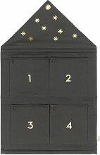 ferm Living - House Adventskalender 4 Fächer,