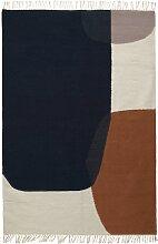 Ferm Living Kelim Merge Teppich Large 200x140 (l)