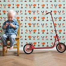 Ferm Living Marionette Tapete (l) 1005 X (b) 53 Cm