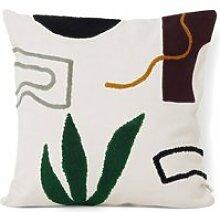 ferm LIVING - Mirage Kissen 50 x 50 cm, Cacti