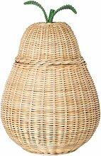 Ferm Living Pear Braided Aufbewahrungskorb (b) 35