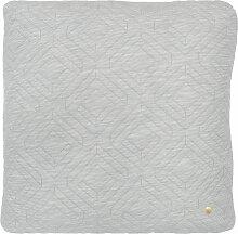Ferm Living Quilt Kissen 45x45 Hellgrau (l) 45.00