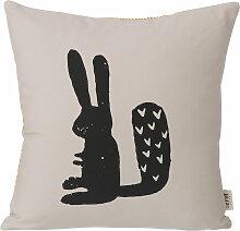 ferm Living - Rabbit Kissen 30 x 30 cm