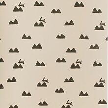 Ferm Living Rabbit Tapete Rosa (l) 1005 X (b) 53 Cm