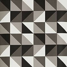 Ferm Living Remix Tapete Grau (b) 53 X (h) 1005 Cm
