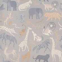 Ferm Living Safari Tapete (l) 1000 X (b) 53 Cm