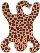 ferm Living - Safari Teppich, Leopard