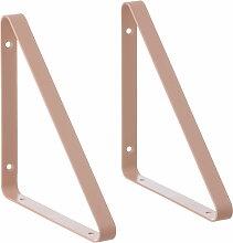 ferm Living - Shelf Hangers Regalsystem, rose