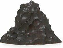ferm LIVING - Skulptur Berg, hoch, schwarz
