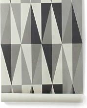 Ferm Living Spear Wallpaper - Grey