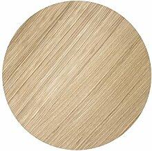 Ferm Living - Tischplatte - Abdeckung für Aufbewahrungskorb - Eiche geölt - Ø 40 cm