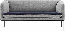 Ferm Living Turn Sofa Cotton 2-Sitzer Grau (b) 160