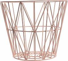 Ferm Living Wire Basket Korb Rosette Large (h)