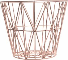 Ferm Living Wire Basket Korb Rosette Large (h) 45