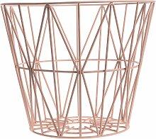 Ferm Living Wire Basket Korb Rosette Medium (h) 40