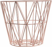 Ferm Living Wire Basket Korb Rosette Small (h)