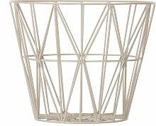 ferm Living - Wire Basket Small, grau