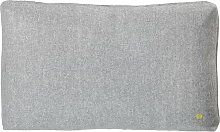 ferm Living - Wool Cushion 60 x 40 cm, hellgrau