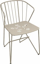 Fermob - Flower Sessel mit Muster, muskat