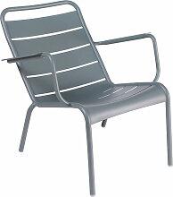 Fermob - Luxembourg Tiefer Sessel, gewittergrau