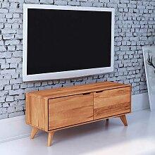 Fernseher Schrank aus Kernbuche Massivholz 120 cm