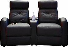 Fernsehsessel Cinema-Sessel Doppelsessel HOLLYWOOD