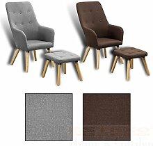Fernsehsessel + Hocker TV Sessel Lounge