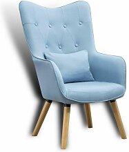 Fernsehsessel Relaxsessel Sessel mit Kissen Lese