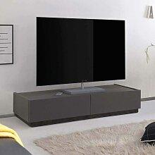 Fernsehtisch in Anthrazit modern