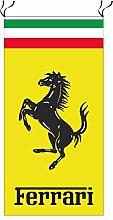 Ferrari Flagge gelb