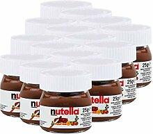 Ferrero Nutella Kleines Mini Design Glas 15er Set