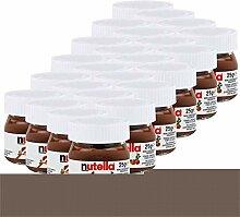 Ferrero Nutella Kleines Mini Design Glas 24er Set