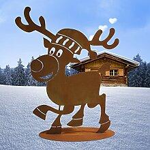 Ferrum Art Design Rost Weihnachtselch
