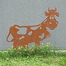 Ferrum Art Design Rostfigur Kuh Liselotte
