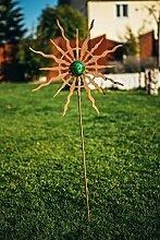 Ferrum Art Edelrost Gartenstecker Gartenstab