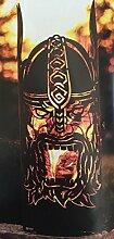 Ferrum Feuersäule Ragnarök H 120cm Wikinger Feuerstelle Lagerfeuer Feuerkorb Edelrost Feuerschale