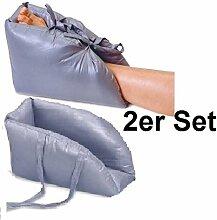 Fersenpolster 2er Set, Anti-Dekubitus Polster,