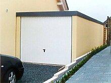 Fertiggarage Premium Auto Garage 2,58 m x 5,54 m x 2,35m Glattwand verputz