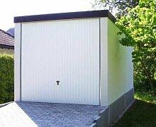 Fertiggarage Premium Auto Garage 2,58 m x 5,85 m x 2,35m Glattwand verputz
