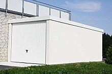 Fertiggarage Premium Auto Garage 2,58 m x 8,09 m x 2,35m Glattwand verputz