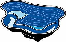 Fertigteich Calmus von Ubbink aus Polyethylen, 145