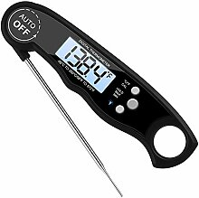 Fesjoy Sofort ablesbares Fleischthermometer,